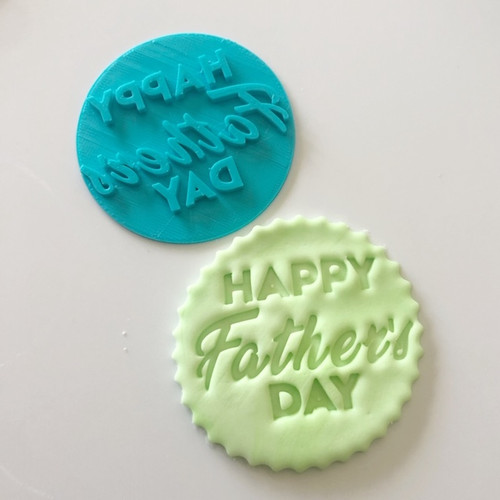 Happy Father's day   Fondant /Cookie Embosser