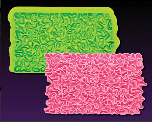 Scrunch Ruffle Simpress by Marvelous Molds