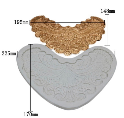 lace accent mold xxl