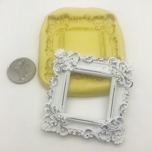 Square Ornate Frame  Mold