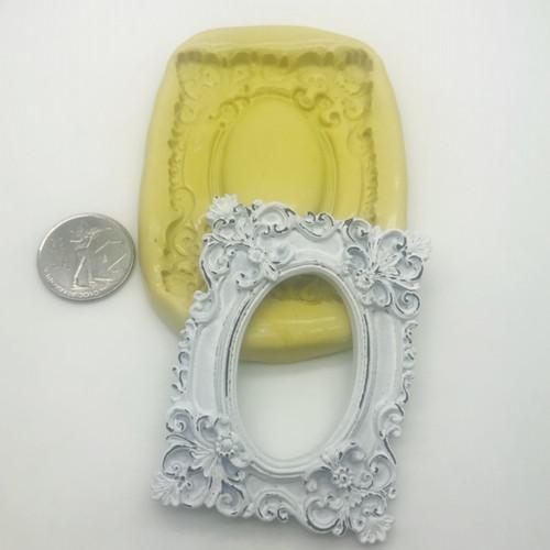 Rectangle Ornate Frame  Mold