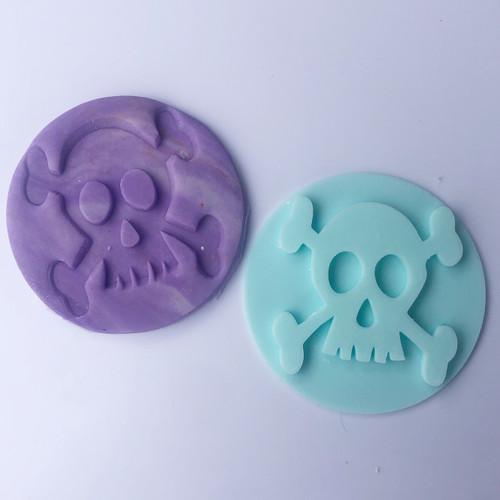 Skull Halloween  Fondant /Cookie Embosser
