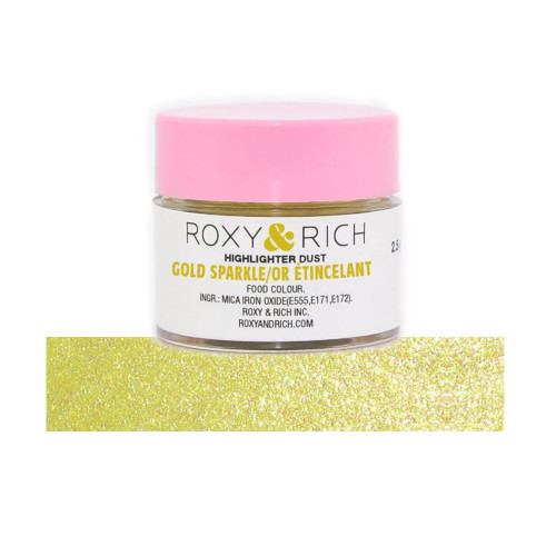 Gold Sparkle 2.5grms  Edible Highlighter Dust