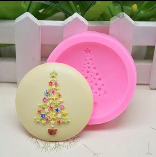 Christmas tree cupcake   silicone mold
