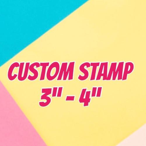 Custom  Fondant /Cookie Embosser large