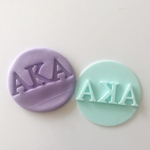 Alpha kappa alpha  Fondant /Cookie Embosser