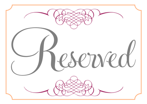 Reserved --kay
