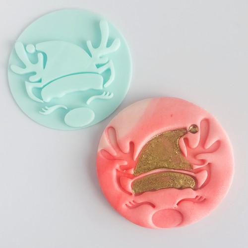 Reindeer Fondant /Cookie Embosser