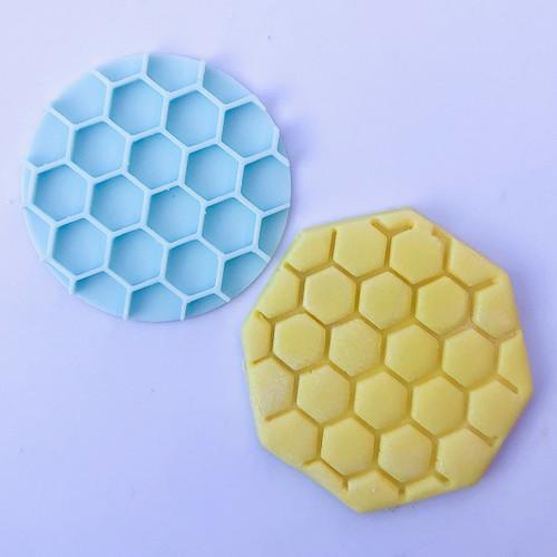 Honey Comb Bee Fondant /Cookie Embosser