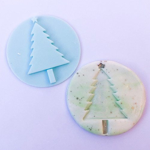 Christmas Tree  Fondant /Cookie Embosser