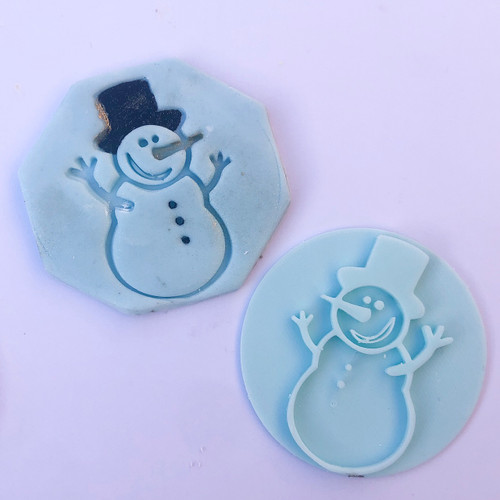 Snowman Fondant /Cookie Embosser