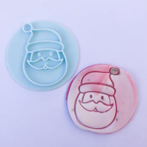 Santa Christmas  Fondant /Cookie Embosser