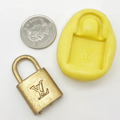 Pad Lock Mold silicone