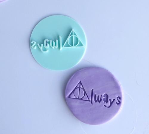 Always Harry Potter  Fondant /Cookie Embosser