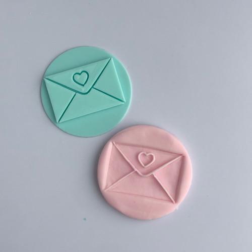 Love Mail Fondant /Cookie Embosser