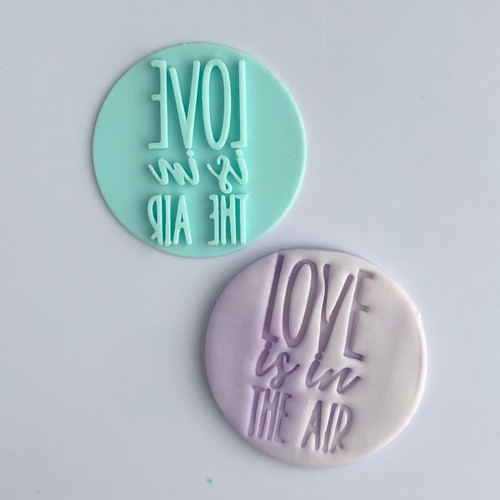 Love is in the air  Fondant /Cookie Embosser
