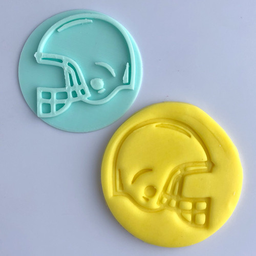 Football Helmet   Fondant /Cookie Embosser