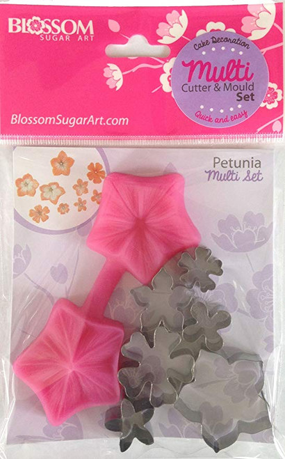 Petunia Multi Set Blossom Sugar art