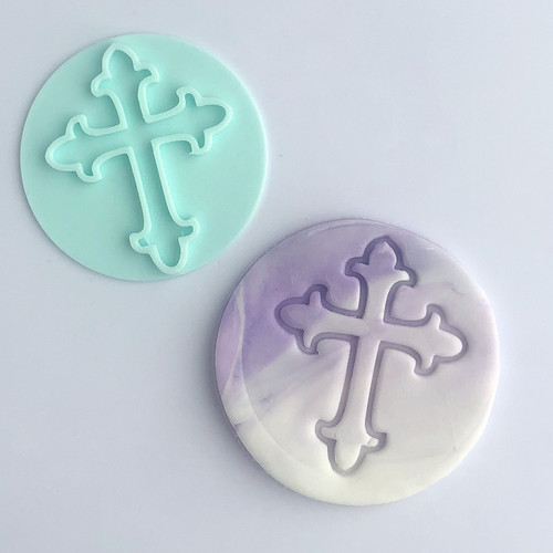 Cross  Fondant /Cookie Embosser
