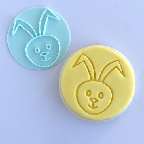 Rabbit  - Bunny   Fondant /Cookie Embosser