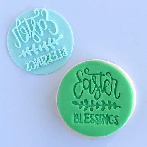 Easter Blessings   Fondant /Cookie Embosser