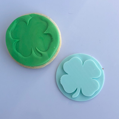 Four Leaf Clover  Fondant /Cookie Embosser