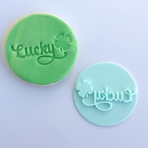 Lucky Fondant /Cookie Embosser