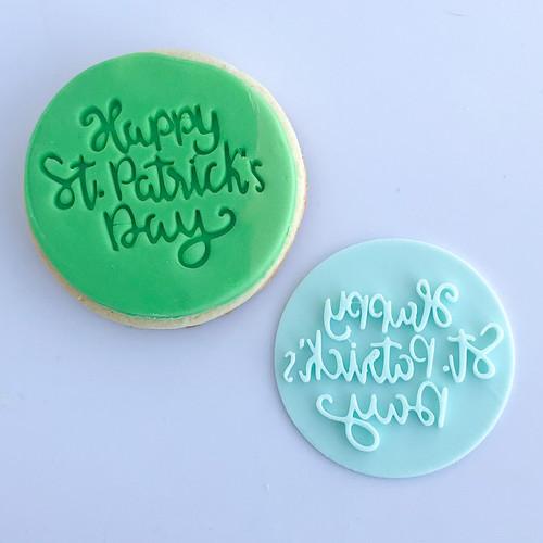 St, Patricks Day   Fondant /Cookie Embosser