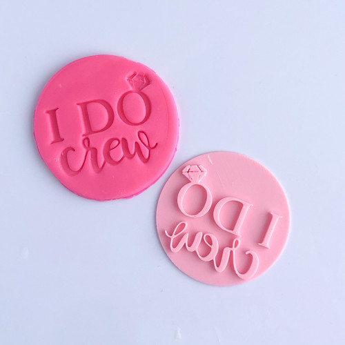 I do Crew  Fondant /Cookie Embosser