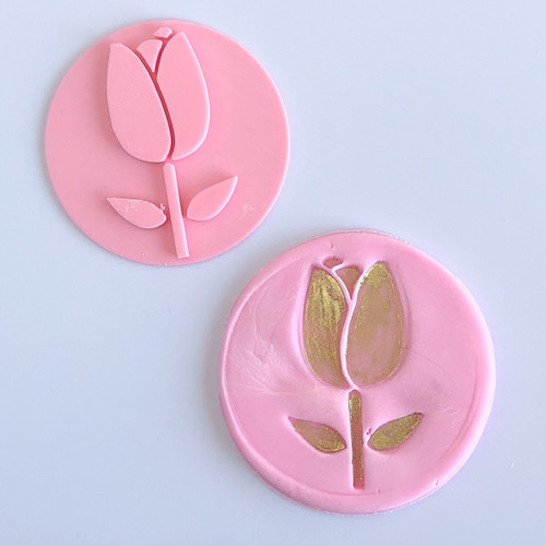 Tulip  Flower   Fondant /Cookie Embosser