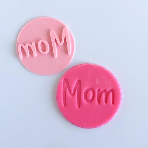 Mom  Fondant /Cookie Embosser
