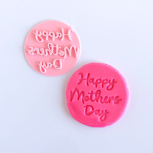Happy Mothers day  Fondant /Cookie Embosser