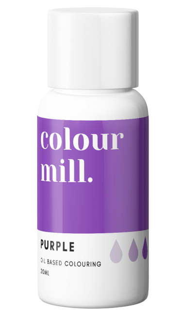 Oil Based Colouring 20ml Purple -Colourmil