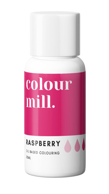 Oil Based Colouring 20ml Raspberry  -Colourmil