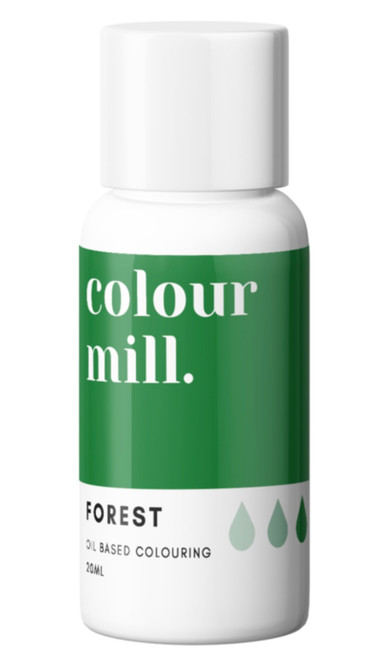 Oil Based Colouring 20ml Forest -Colourmil
