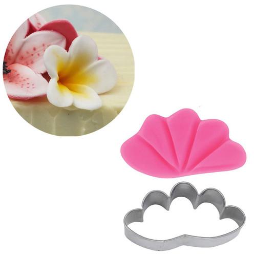 Frangipani / plumeria flower  Blossom Sugar art