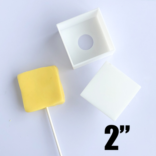 "Square 2"" size Cake Pop Mold"