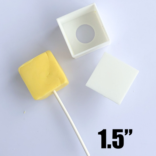 "Square   1.5"" size Cake Pop Mold"