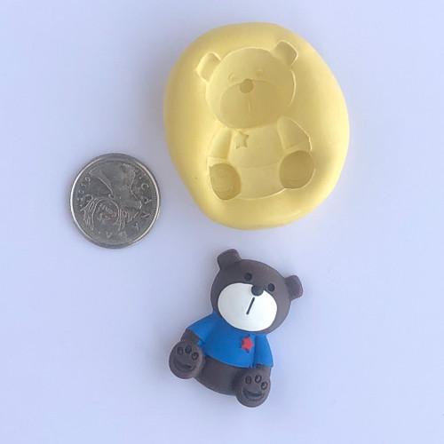 Bear teddy  small  mold