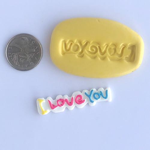I Love You  mold