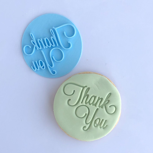 Thank you  Fondant /Cookie Embosser (new)