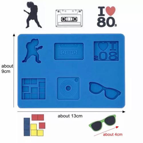 80's theme mold