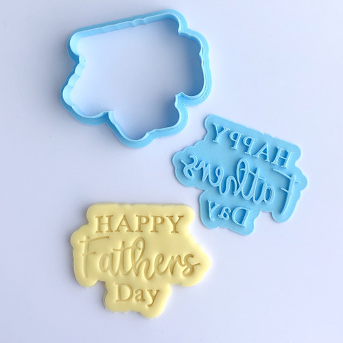 Happy Fathers Day embosser and cutter set