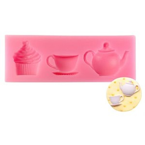Tea cup and Pot silicone Mold