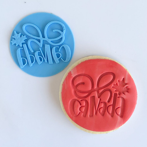 Oh Canada    Fondant /Cookie Embosser