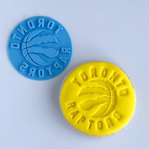 Toronto Raptors  Fondant /Cookie Embosser