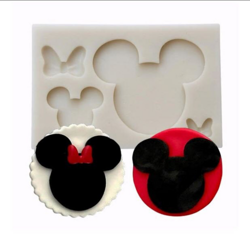 Mouse  duo  silicone Mold PM472