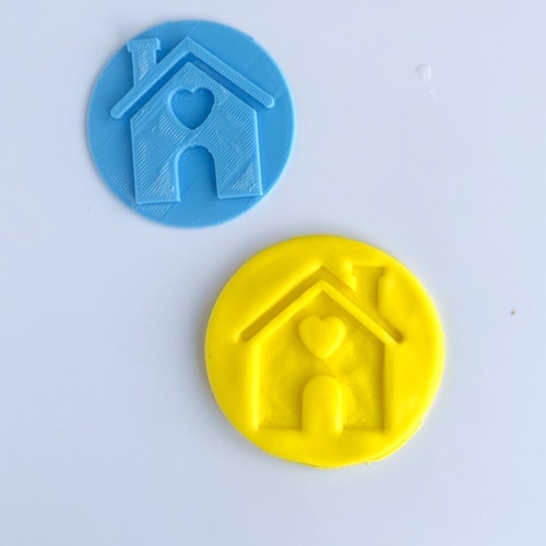 House   Fondant /Cookie Embosser
