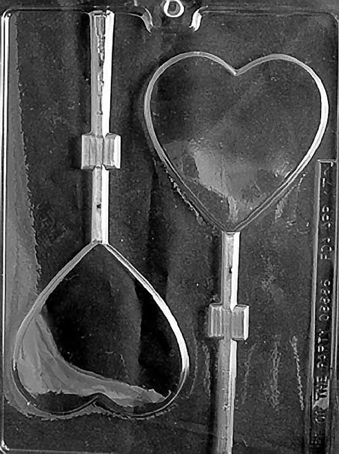 LARGE HEART LOLLY #CH110
