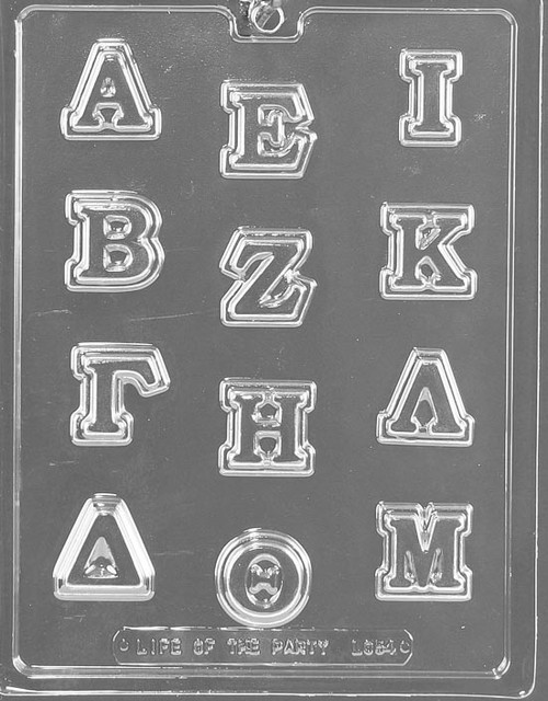 Greek Letters A-M